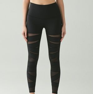 lululemon athletica Pants - Lululemon Wunder Mesh Pants