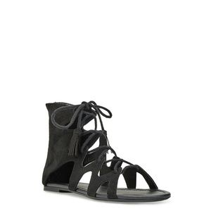 Justfab✨Black Gladiator Sandals