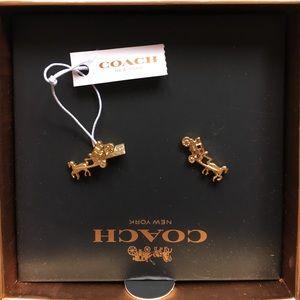 Coach Jewelry - Cute NWT Coach earrings