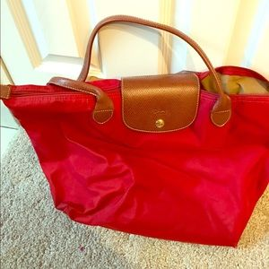 Longchamp Handbags - Large longchamp le pliage bag