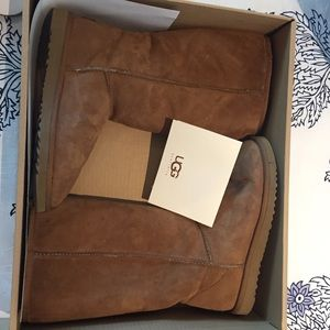 UGG Shoes - Authentic Classic Tall UGG Chestnut boots