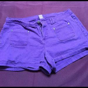 Reign Pants - Purple shorts