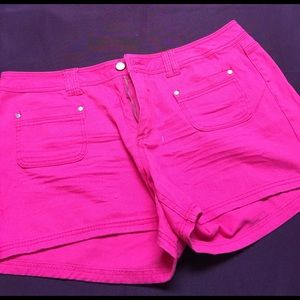 Reign Pants - Fuchsia shorts