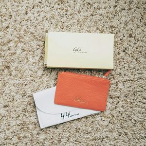 Gigi new york leather card holder/wallet