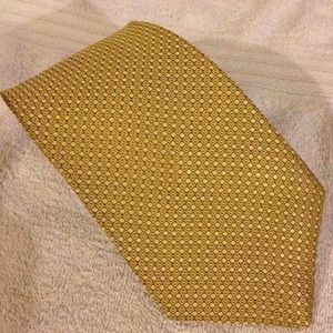 Brooks Brothers Other - Brooks Brothers Solid Gold Check Tie