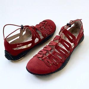 Jambu Shoes - JAMBU Sporty Leather Gladiator Sandal Sneaker❤