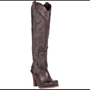 Donald J. Pliner Shoes - New Lisa By Donald J. Pliner Bark Cowboy Boots 6.5