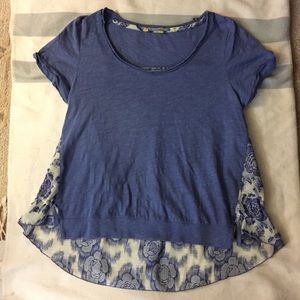 ANTHROPOLOGIE HIGH LOW TEE