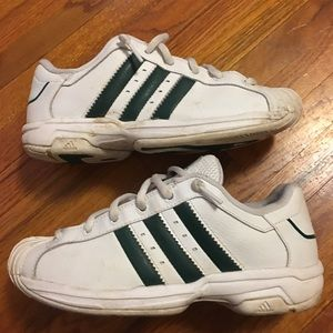 Adidas Other - White and Hunter Green Adidas