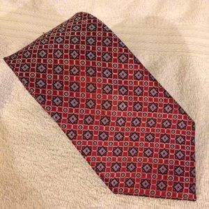Jos. A. Bank Other - NEW Jos A Bank Signature Red Check Tie