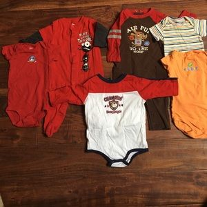 Carter's Other - Lot of Baby Clothing Size 6-9 M Onesies, pj's, etc