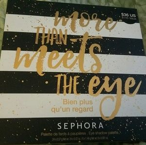 Sephora Other - More than meets the eyes palette sephora.