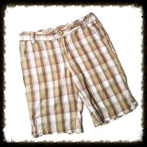 Other - ❎3/$15 Plaid Bermuda Shorts Size 12 Girl
