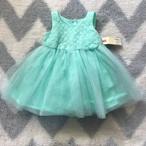 Cherokee Other - Mint green dress and bloomers