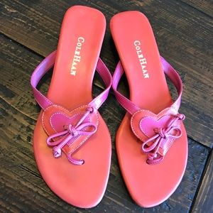 Cole Haan Shoes - Cole Haan Hearts Leather Sandals, size 7