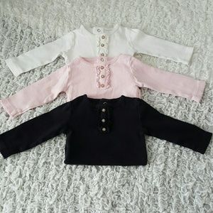 Carter's Other - 3 Piece Long-sleeved Bodysuits