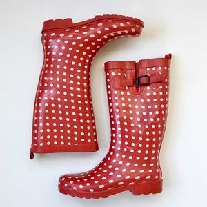 Capelli of New York Shoes - CAPELLI Adorable Polka Dot Rubber Rain Boots❤