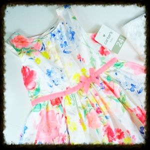 Carter's Other - New Carter's Floral Sundress with Bloomer 24M