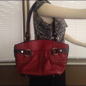 Tignanello Handbags - Genuine leather red Tignanello bag