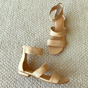 Seychelles Shoes - Seychelles Beige Gladiator Sandals