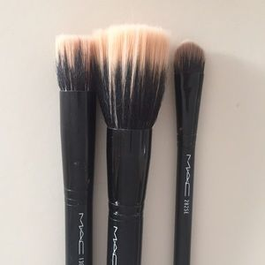 MAC Cosmetics Other - Three MAC brushes