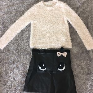 H&M Other - H & M sweater and skirt outfit😻