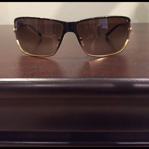 Versace Black and gold sunglasses