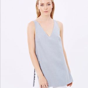 Finders Keepers Tops - Finders Keepers grey suiting serene minimalist top