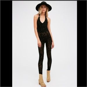 Free People Pants - Free People Flock to Trot Catsuit