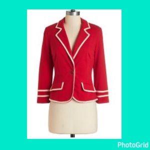 Red blazer!