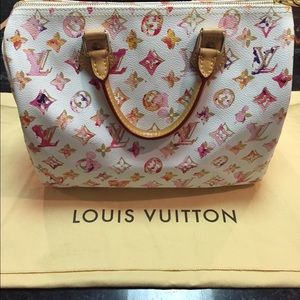 Louis Vuitton 30 LE Watercolor Speedy