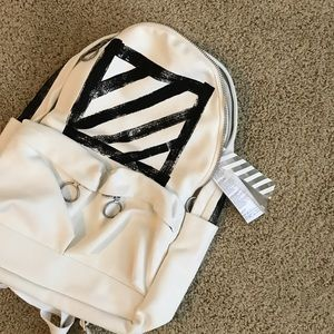 Off-White Other - off-white brushed diagonals leather trainer bags
