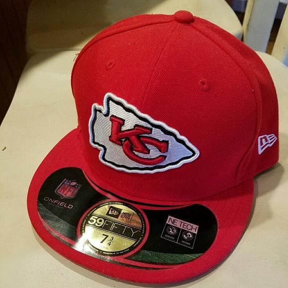 6728c60f NWOT KANSAS CITY CHIEFS NEW ERA FITTED HAT