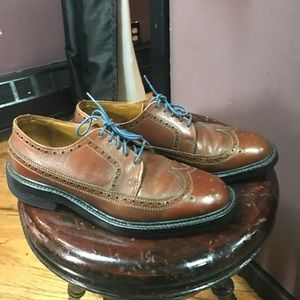 Bostonian Other - Bostonian Gellar brown leather wing tip oxfords