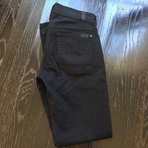 Seven7 Denim - black skinny SEVEN jeans