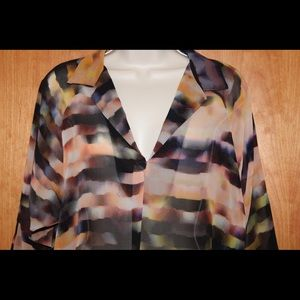 Rory Beca Tops - NWT RORY BECA Multi Colored Blouse