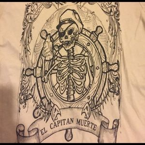 Vintage El Captain Muerte Tee Sz S-M