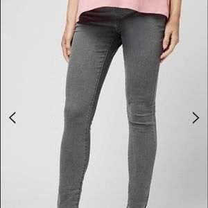 Topshop MATERNITY Denim - Grey maternity Topshop jeans