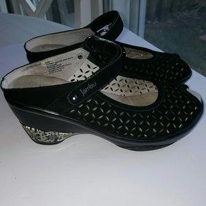 Jambu Shoes - JAMBU Journey Peep Toe Wedge Sandal