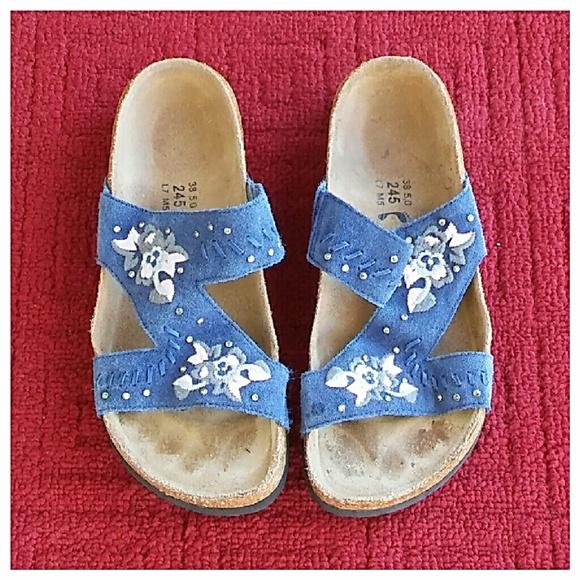 5104c3c834bf Birkenstock Shoes - Birkenstock Zara Embroidered Sandals