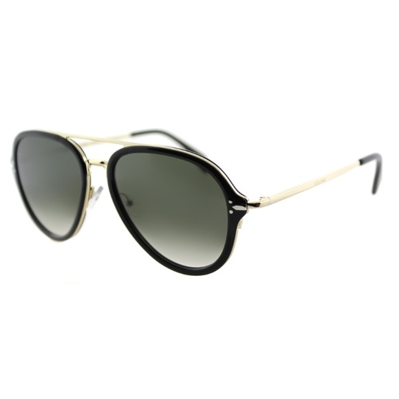 9f976360aa97 Celine Accessories - CELINE Black   Gold Gradient Aviators