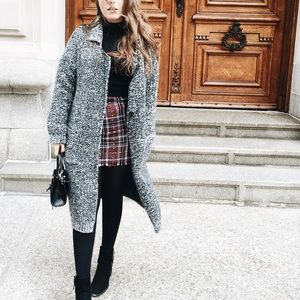 Forever 21 Sweaters - Oversized Sweater Coat