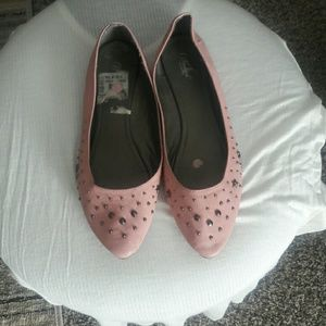 Wanted Shoes - Pink flats