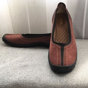 Clarks Shoes - Privo Clarks Red Comfort Flats