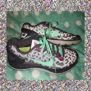 Nike iD Customized Lunarglide 5 Tennis Shoes
