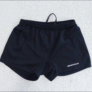 Brooks Pants - Brooks Black Spandex Shorts