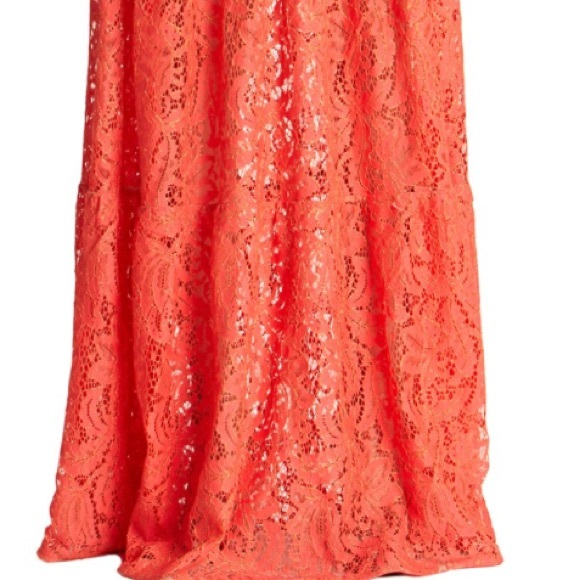 Dress the Population Dresses - Boho Illusion Embellished Lace Maxi Gown