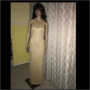 Gold Ralph Lauren Dress