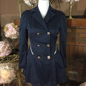 unknown  Jackets & Blazers - Navy light jacket