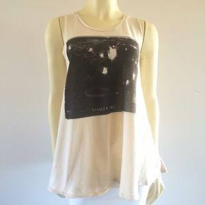 Free People Nightsky Print Trapeze Tank/Mini Dress